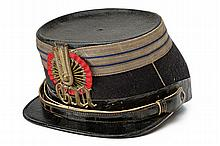 A 1860 model National Guard kepì