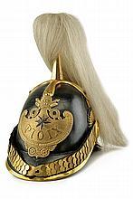 A Civil Guard officer's helmet