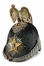 A general's helmet, Umberto I period