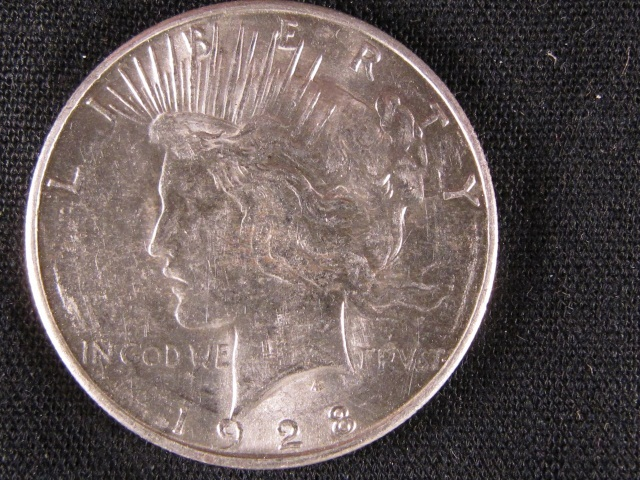 1928-S Peace Silver Dollar - UNC