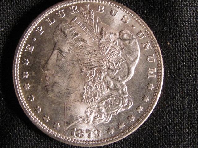 1879-S Morgan Silver Dollar - UNC
