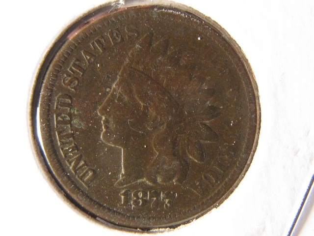 1877 Indian Head Cent - VG