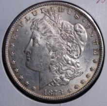 1878-S Morgan Silver Dollar- UNC