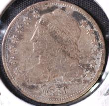 1831 Capped Bust Dime - AG
