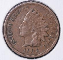 1909 Indian Head Cent - VF