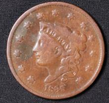 1835 Coronet Large Cent - VF