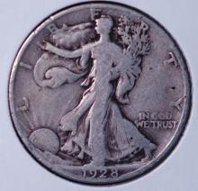 1928-S Walking Liberty Half Dollar- F