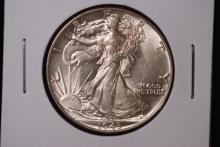 1943 Walking Liberty Half Dollar- BU