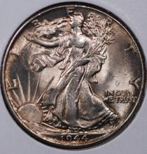 1944 Walking Liberty Half Dollar- Gem BU