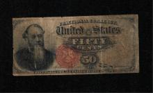 1863 50c 4th Issue Fractional Note - G