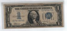 1934 $1 Silver Certificate - Funny Back