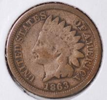 1863 Indian Head Cent - G