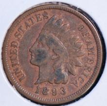 1893 Indian Head Cent - G Details