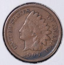 1909 Indian Head Cent - VG