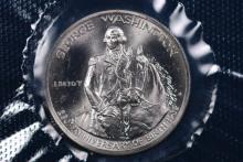 1982-D Geo Washington Commem Silver Half