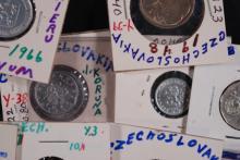 Czechoslovakia Coin Lot - (33 Coins)