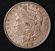 1878-7TF (Rev 79) Morgan Silver Dollar- XF