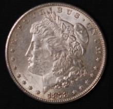 1878-S Morgan Silver Dollar- AU