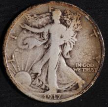 1917 Walking Liberty Half Dollar- G
