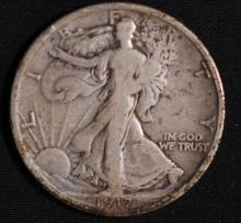 1917-D Walking Liberty Half Dollar - G