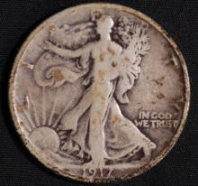 1917-S Walking Liberty Half Dollar- G
