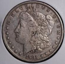 1881-O Morgan Silver Dollar- VF