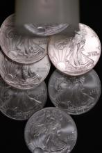 American Silver Eagle Roll - (20) Unc Coins