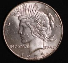 1935 Peace Silver Dollar - UNC