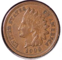 1909 Indian Head Cent - XF