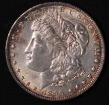 1896 Morgan Silver Dollar- UNC