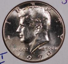 1970-D Kennedy Half Dollar- Gem Bu