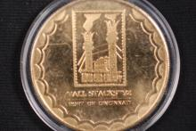 1992 Cincinnati Tall Stacks Medal - Gem BU