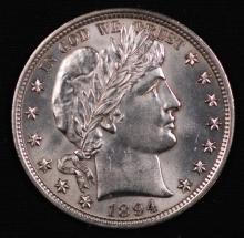 1894 Barber Half Dollar- UNC