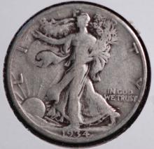 1934-D Walking Liberty Half Dollar - F