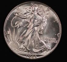 1946 Walking Liberty Half Dollar- UNC