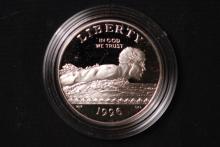 1996 US Olympic Clad Half Dollar Proof