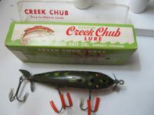 Creek Chub Injured Minnow Lure w/box -Fair