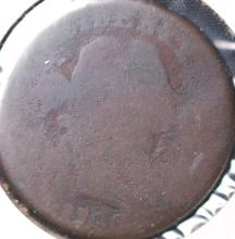 1798? Draped Bust Large Cent - AG