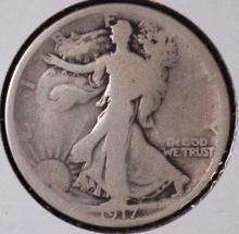 1917 Walking Liberty Half Dollar - G
