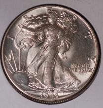 1943 Walking Liberty Half Dollar - UNC