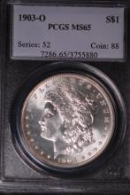 1903-O Morgan Silver Dollar - PCGS MS65