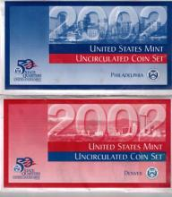 2002 US Mint Set - Denver & Phila
