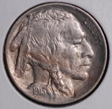 1913 (ty2) Buffalo Nickel - AU