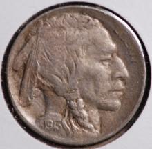 1913-S (ty1) Buffalo Nickel - XF