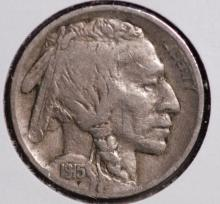 1915-S Buffalo Nickel - VF