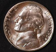 1939-D (Rev 40) Jefferson Nickel - CH BU