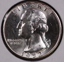 1952 Washington Silver Quarter - CH BU