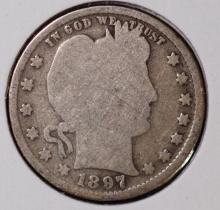 1897 Barber Quarter - G