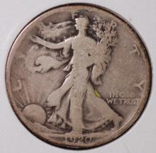 1920 Walking Liberty Half Dollar - VG
