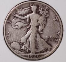 1928-S Walking Liberty Half Dollar - VF